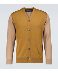 Comme des Garçons Wool Cardigan - Natural
