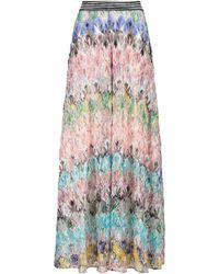 Missoni Wide-leg Knit Trousers - Multicolour