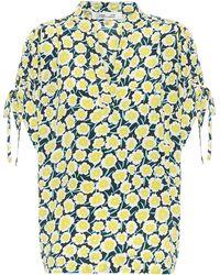 Diane von Furstenberg Bedrucktes Top aus Seide - Mehrfarbig