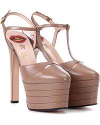 e7e32a73b Gucci Heels - Gucci High Heels, Pumps & Platform Heels - Lyst