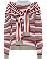 Isa Arfen - Pullover in cotone a righe - Lyst