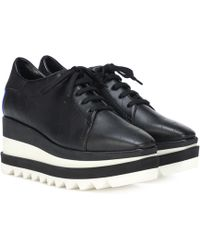 Stella McCartney Sneak-elyse Platform Sneakers - Black