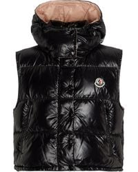 Moncler Quilted Down Gilet - Black
