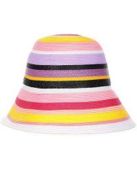 Emilio Pucci - Striped Hat - Lyst