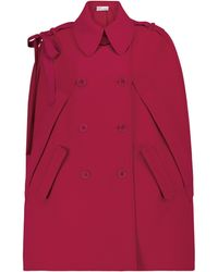 RED Valentino Cady Cape - Red