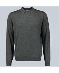 Brunello Cucinelli Polo-style Sweater - Gray