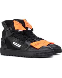 Off-White c/o Virgil Abloh - Leather Trainers - Lyst