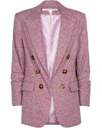 Veronica Beard Blazer Beacon Dickey - Pink