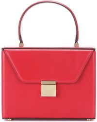 Victoria Beckham - Vanity Leather Crossbody Bag - Lyst