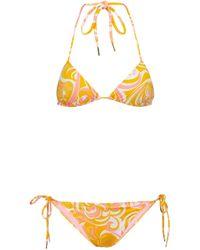 Emilio Pucci Printed Swimsuit - Multicolour