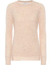 Agnona Cashmere And Silk-blend Sweater - Multicolour