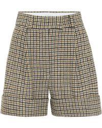 Miu Miu Shorts aus Wolle - Mehrfarbig