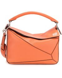Loewe | Puzzle Small Leather Shoulder Bag | Lyst