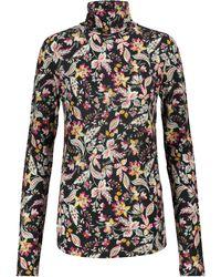 Étoile Isabel Marant Top Jewel à fleurs - Multicolore
