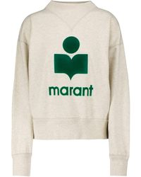 Étoile Isabel Marant Sweatshirt Moby aus Jersey - Weiß