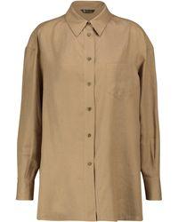 Loro Piana Fabienne Linen Shirt - Natural