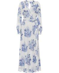 Polo Ralph Lauren Exclusive To Mytheresa – Floral Maxi Wrap Dress - White