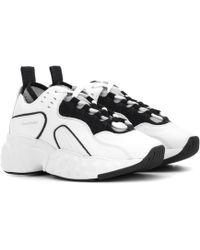 Acne Studios Sneakers Manhattan aus Leder - Weiß