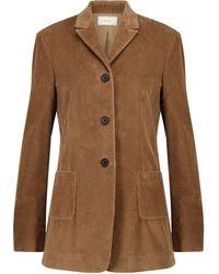The Row Giedre Cotton Corduroy Blazer - Brown