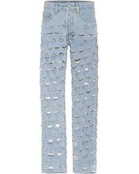 Vetements X Levi's® Distressed Jeans - Blue