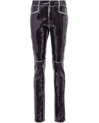 Rick Owens Tyrone Sequin-embellished Jeans - Blue