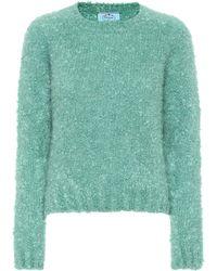 Prada - Pullover mit Kaschmiranteil - Lyst
