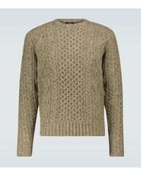 RRL Donegal Wool Sweater - Multicolor