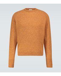 Éditions MR Jersey Nicolas de lana - Naranja
