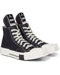 Rick Owens X Converse Sneakers TURBODRK Chuck 70 - Schwarz