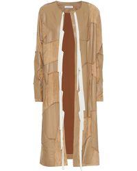 Altuzarra Benvenuto Leather Coat - Multicolor
