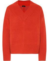 JOSEPH Wool And Cashmere Sweater - Orange