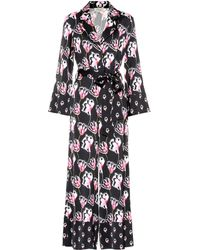 Temperley London - Dragonfly Printed Satin Jumpsuit - Lyst