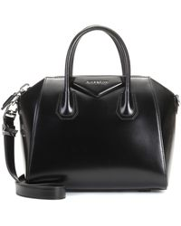 Givenchy Borsa Antigona piccola di pelle - Nero
