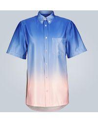 Sies Marjan Chemise Rooney à degradé - Bleu