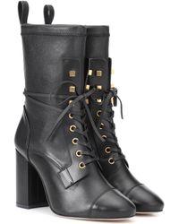 Stuart Weitzman - Veruka Leather Ankle Boots - Lyst
