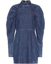 ROTATE BIRGER CHRISTENSEN Kim Dress - Blue