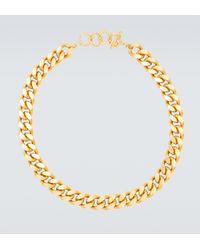 Elhanati Vergoldete Halskette X Charley - Mettallic