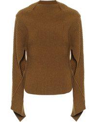 Victoria Beckham Pullover aus einem Wollgemisch - Mehrfarbig