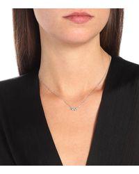 Suzanne Kalan Halskette Fireworks aus 18kt Weißgold mit Diamanten - Mettallic
