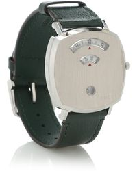 Gucci Grip 38mm Stainless Steel Watch - Green