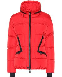 3 MONCLER GRENOBLE Zip-front Padded Jacket - Red