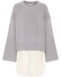 Dorothee Schumacher Wool And Cashmere-blend Sweater - Gray