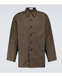 Lemaire Hemd aus Baumwolle - Braun