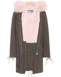 Army by Yves Salomon - Fur-trimmed Parka - Lyst
