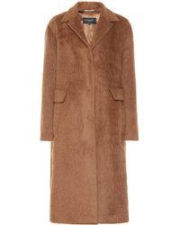 Rochas - Alpaca And Wool Coat - Lyst