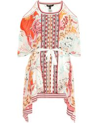 Roberto Cavalli - Printed Silk Kaftan - Lyst