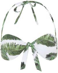 Melissa Odabash Top de bikini Caribe - Verde