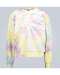 Amiri Felpa tie-dye in cotone - Multicolore