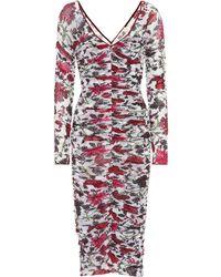 Diane von Furstenberg Floral-printed Dress - Red
