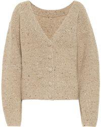 Altuzarra Wool And Cashmere Cardigan - Natural